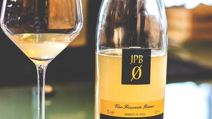 JPB Trebbiano vino frizzante di Paolo Babini, Vigne dei Boschi, vino naturale