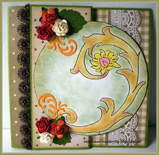 card for the creative freebie challenge on the http://outlawzchallenges.ning.com/ image from Sandi Hugget