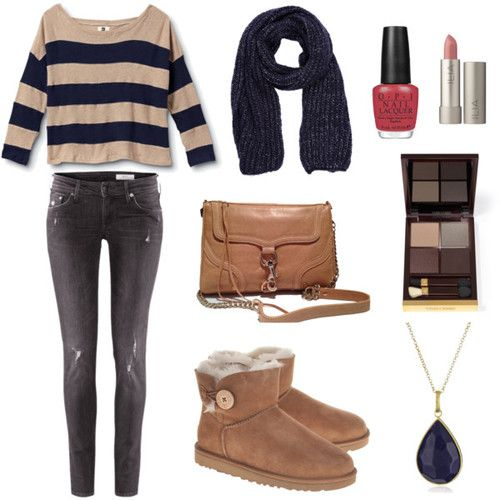 17 Best Images About Brown Uggs Boot Outfit On Pinterest
