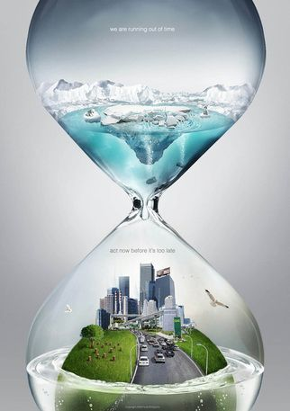 Graphic by Ferdi Rizkiyanto.  We are running out of time.  Act now before it's too late.