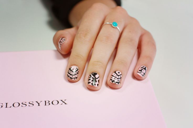 GB aztec inspired nail art. We have partnered with 'All That Jazz' to offer you the chance to win their full collection worth over £200. To Enter: Follow GLOSSYBOX UK and re pin one of these polished nail designs. Nail it and you could be one of our lucky winners!