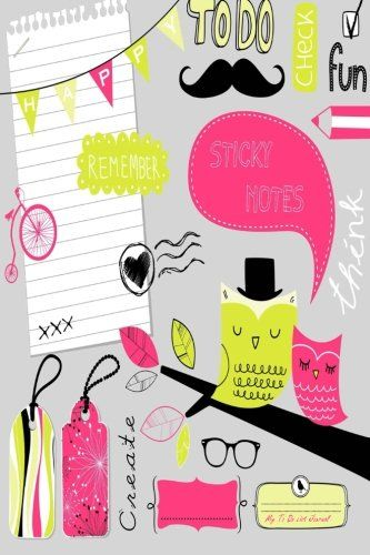 My To Do List Journal: Cute Scrapbook Elements, 6 x 9, 100 Days, To Do List Planner