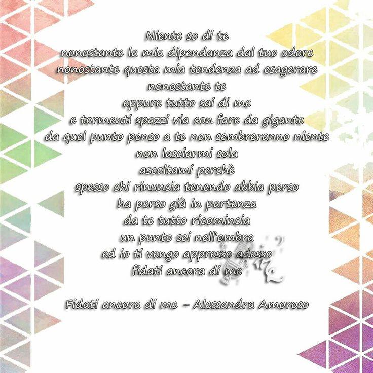 Fidati ancora di me - Alessandra Amoroso