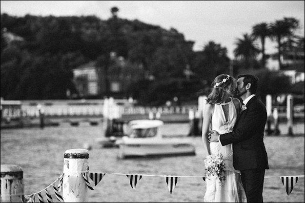 Jenny & Damien at their Vaucluse Amatuer 12ft Sailing Club wedding. Photography by The Follans - www.thefollans.com.au