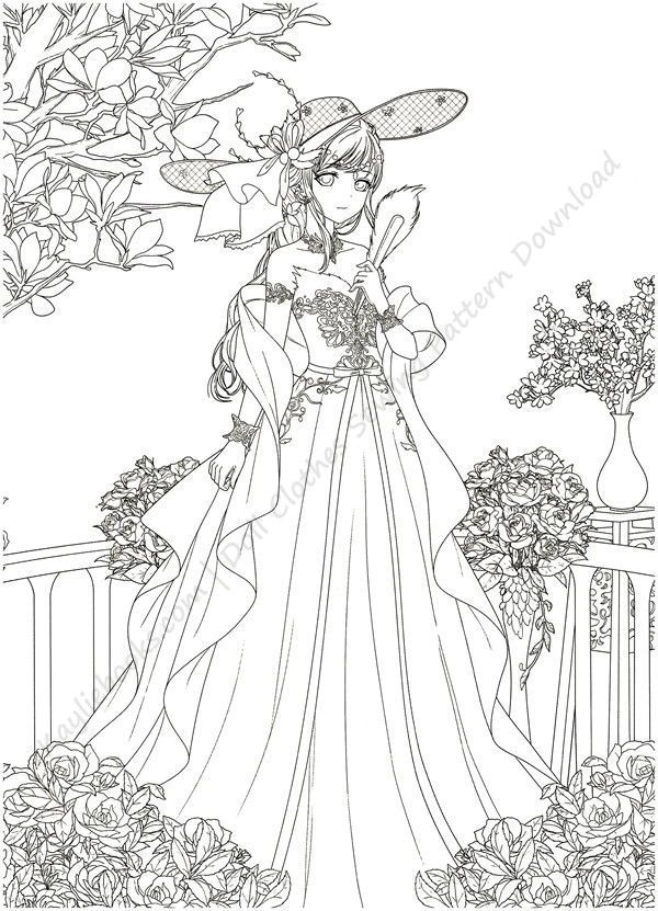 Download Magical Time Traveler Coloring Book PDF Detailed Coloring Pages, Coloring  Books, Cute Coloring Pages