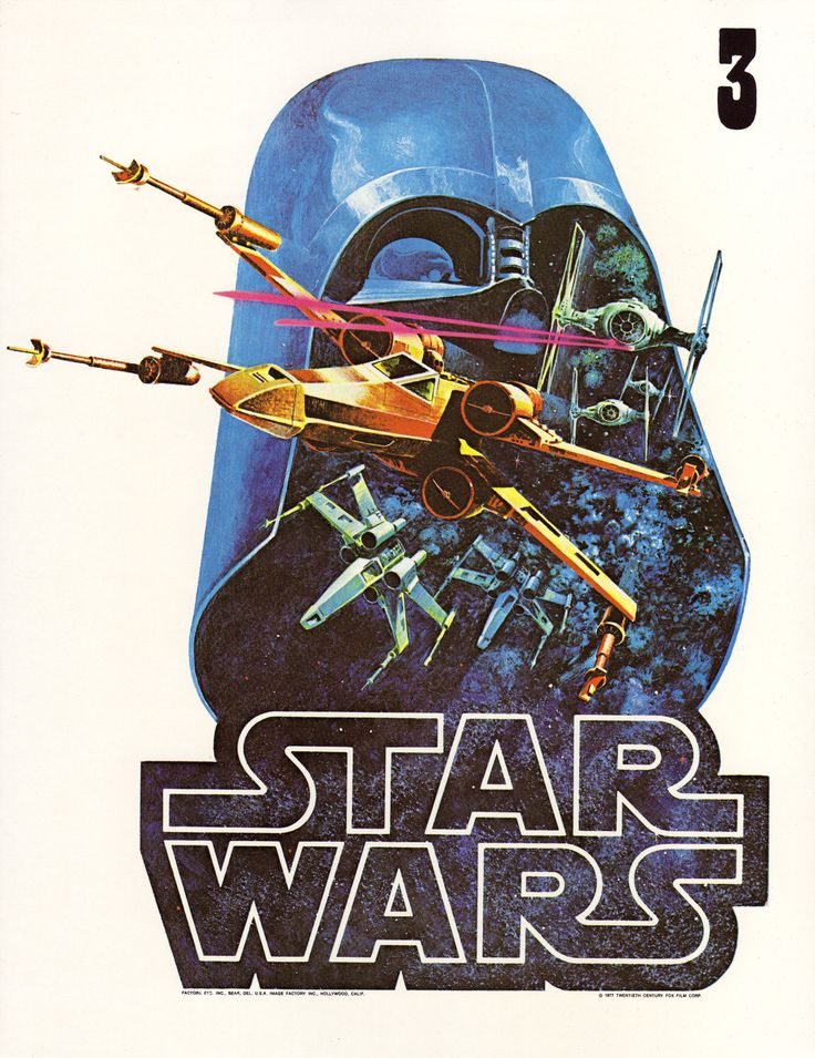 Star Wars Factors Iron On Proof Sheet, Star Wars Alternate - 1977Found here:Jason