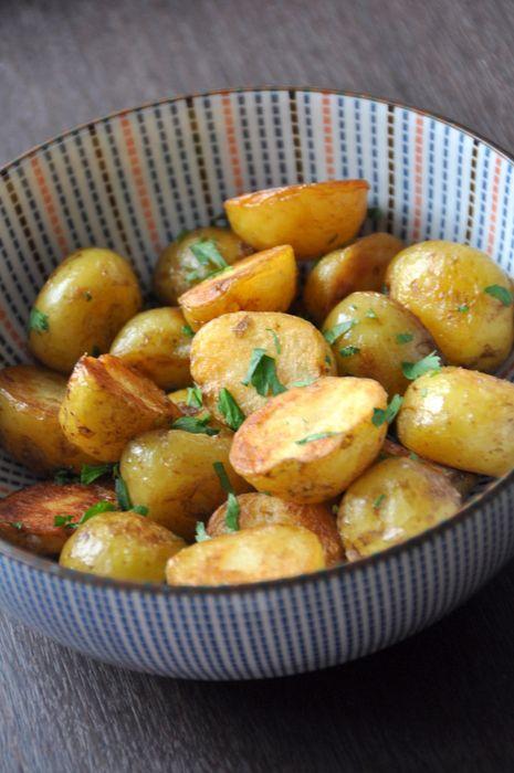 Pommes de terre sautées au ghee