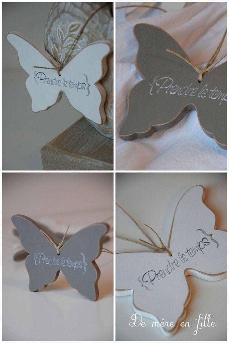 papillon prendre le temps