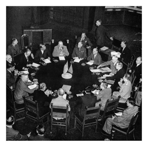 The Potsdam Conference; Second World War, 1945 (Giclee Print at AllPosters.com)