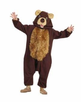 Black friday dress up like a bear