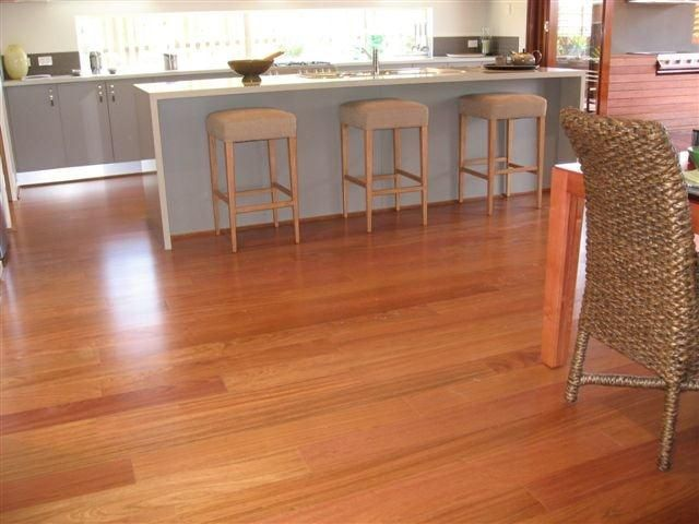 Impressive from any angle - Jatoba floating floor by Solomons Flooring
