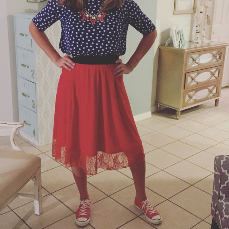 LulaRoe Irma top with Lola skirt https://www.facebook.com/groups/lularoecamibeacham/.
