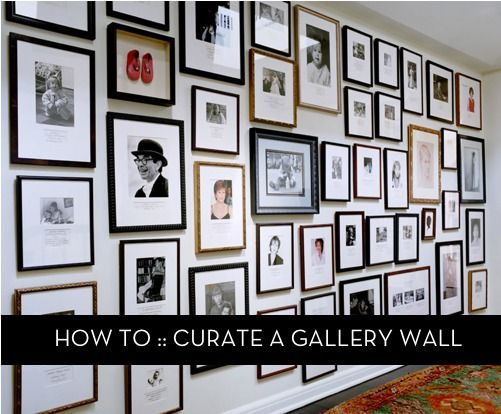 How To: Curate a Gallery Wall
