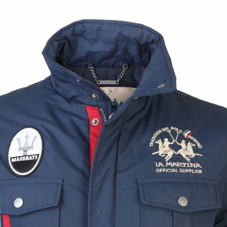 La Martina blue men's jacket - Maserati by La Martina - Collection
