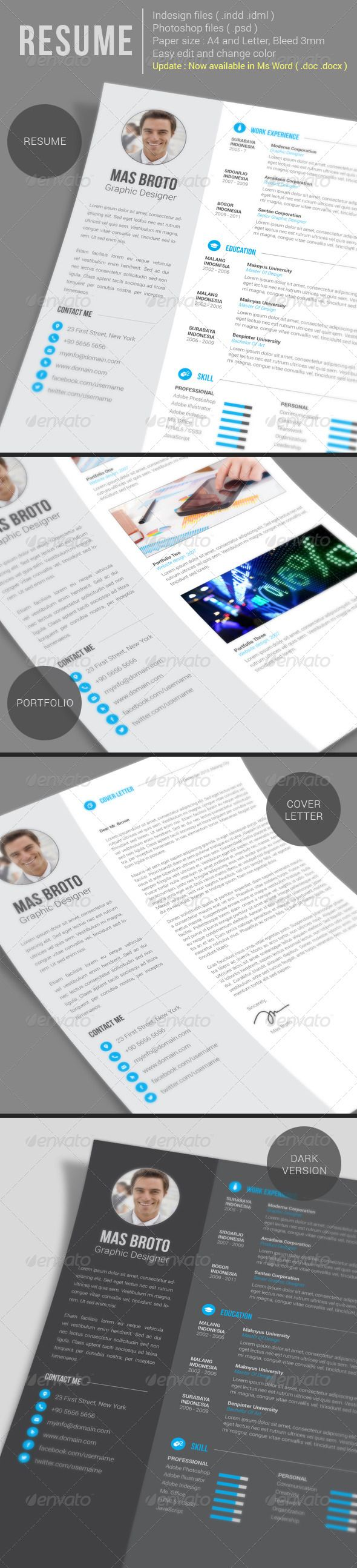 1074 best design resumes images on pinterest design resume