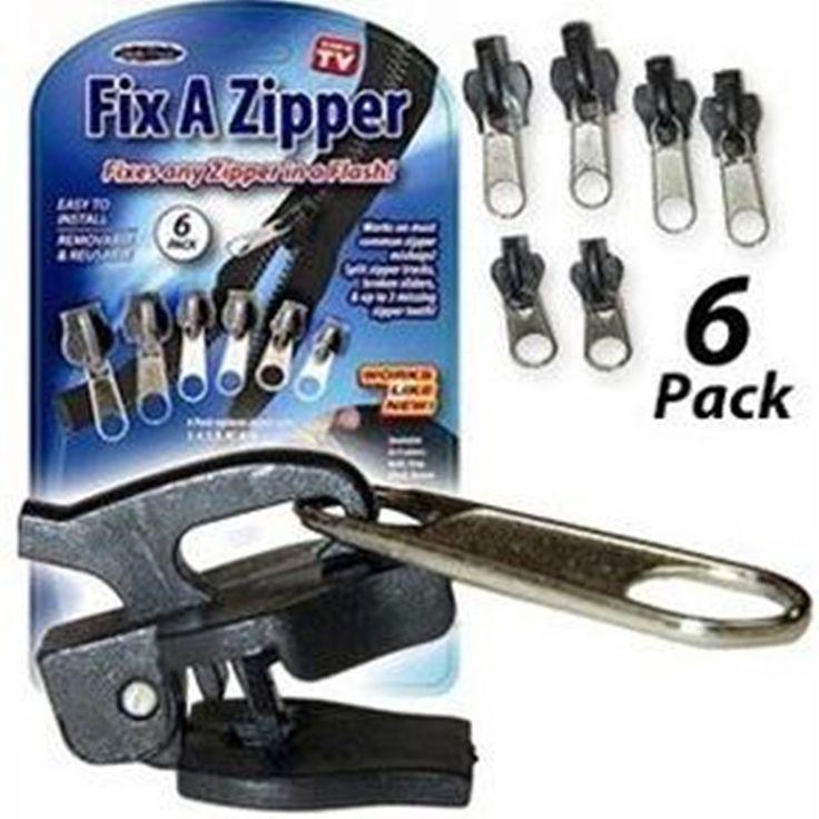 1 pack reißverschlussanhänger verschiedene größe Reparatur Kit slider reißverschluss Ersatz (2015098)