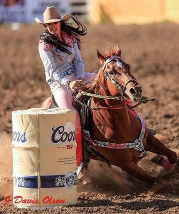 Fallon Taylor of Dynasty Equine. I LOVE THIS WOMAN. I know a lot of people talk trash on her for her for her wild outfits and glamorous disposition but I personally love it. If you've got it, #flauntit
