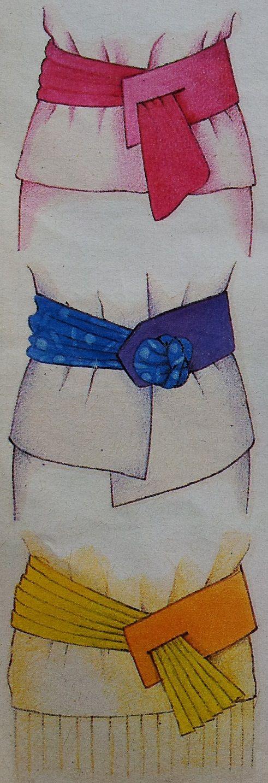 Ceintuur of riem maken in de kleur die jij mooi vindt. Een riem of ceintuur is een meestal van leer of kunststof en met een gesp. Je draagt een ceintuur of