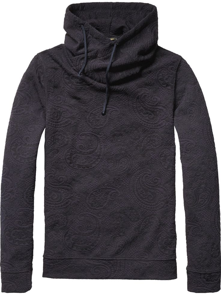 Sweat-shirt à capuche croisée | Sweat-shirt | Habillement Homme Scotch & Soda