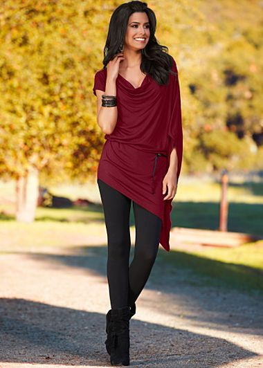 Belted Draped Top $32