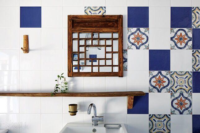 한옥 스타일 욕실