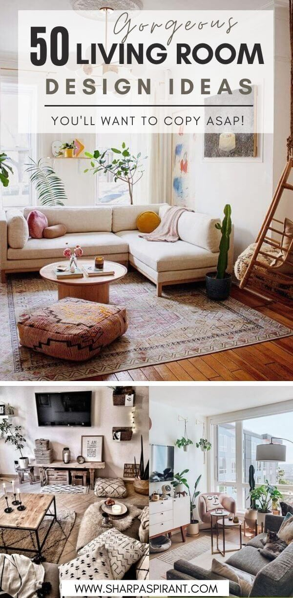 50 Small Living Room Design Ideas To Copy Right Now Sharp Aspirant Small Living Room Design Room Design Living Room Designs