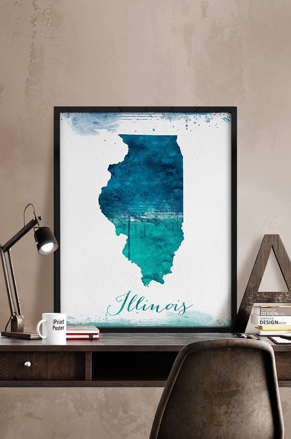 Best Illinois State Ideas Only On Pinterest Country Chic - Us word map illionis