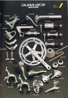 90s Dura Ace Visit us @ http://www.wocycling.com/ for the best online cycling store.