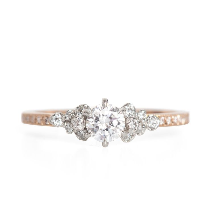 Japanese Rose Ring - Engagement Rings - Catbird