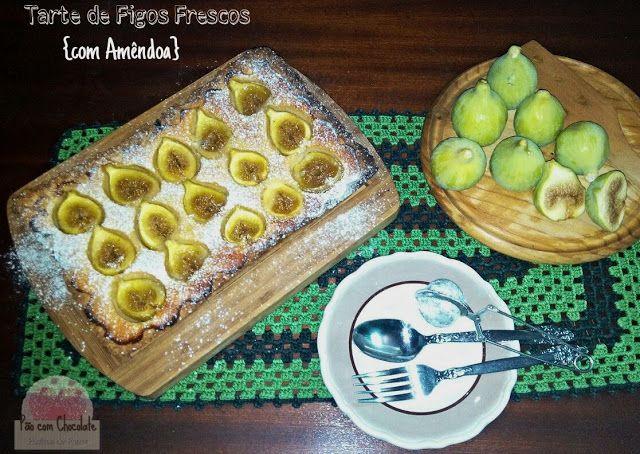 Pão com Chocolate: Tarte de Figos Frescos {com Amêndoa}