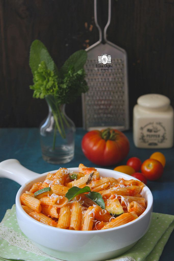 Pasta in Red Sauce is a delicious Italian pasta dish bursting with robust flavors of fresh tomato sauce. You don't have to wait for winters to make this quick sauce pasta recipe. funfoodfrolic.com