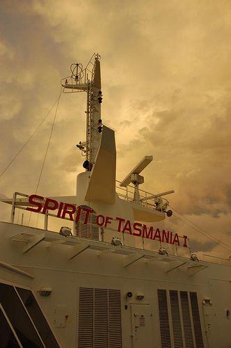 Spirit of tasmania by alexandraview, via Flickr