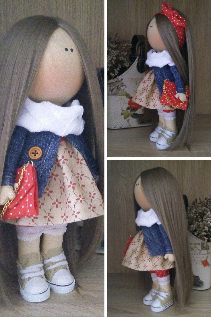Style doll doll Tilda doll Art doll handmade by AnnKirillartPlace