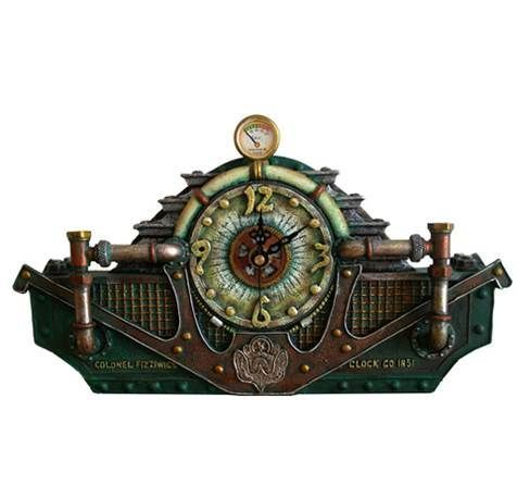 17 best images about steampunk on pinterest steam punk steampunk fairy and gothic - Steampunk mantle clock ...