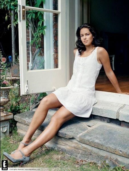 Ana Ivanovic's Legs   Zeman Celeb Legs