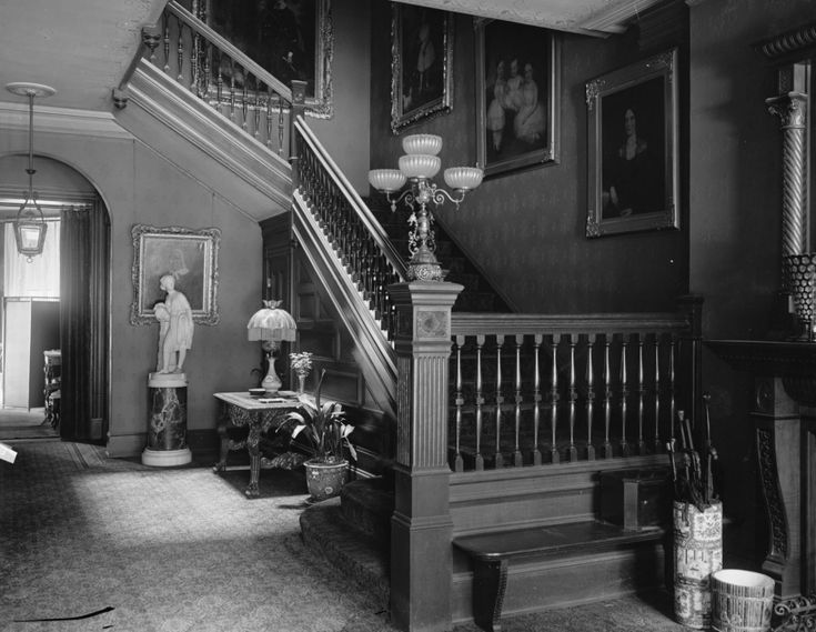 Early 1900s photo lockett miss home interior vintage for Home decor 1910