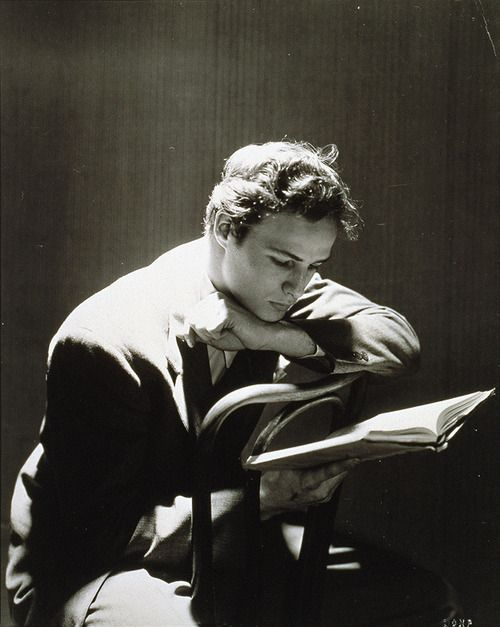 """© Cecil Beaton, 1947, Portrait of Marlon Brando --- This photo was published in the book """"The Essential Cecil Beaton - Photographs 1920-1970"""" (published by Schirmer/Mosel)."""