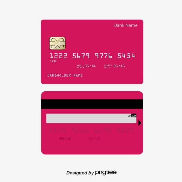 Credit Card Bank Card Vector Material Credit Card Bank Card Encryption Png And Vector With Transparent Background For Free Download Bank Credit Cards Credit Card Machine Bank Card