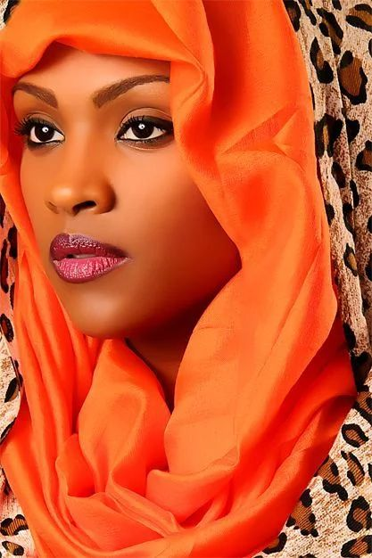 Hijab for Black Girls-20 Hijab Styles for Dark Complexion Girls