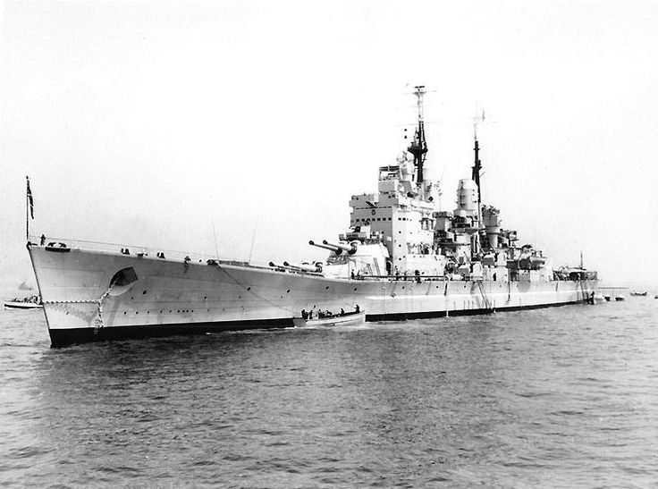 15 in HMS Vanguard, the last battleship - she was not completed until 1946, and remained in commission until 1960.