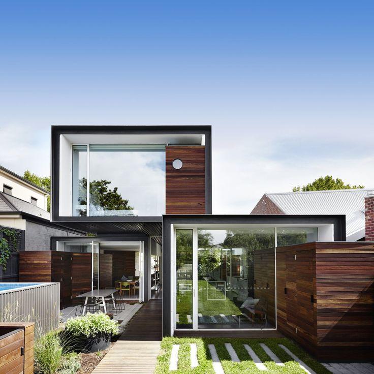 Die besten 25+ moderne Hausarchitektur Ideen auf Pinterest, die ...