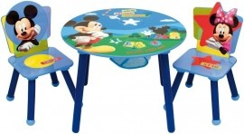 Set tavolo + 2 sedie Mickey Mouse Clubhouse - table & chairs