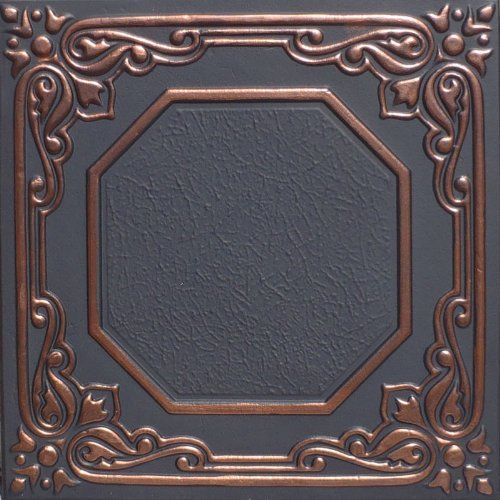 Lisbona Accent Copper Black 20x20 Pvc Ceiling Tile * Find out more about the great product at the image link.