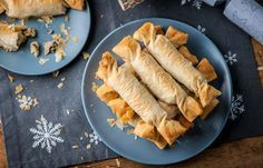 Chicken Christmas crackers - Alyn Williams