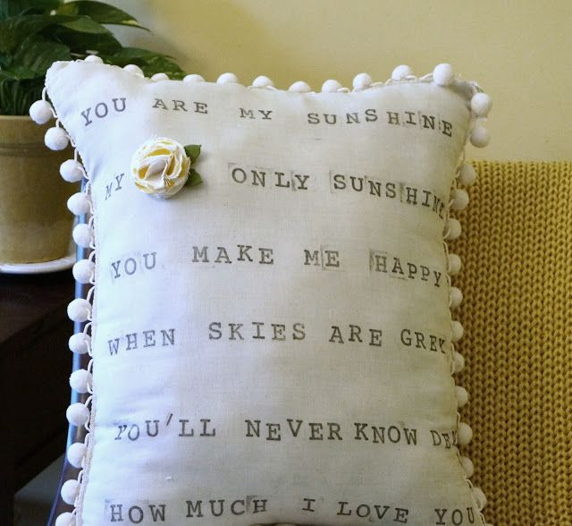 Another super cute Anthro pillow!