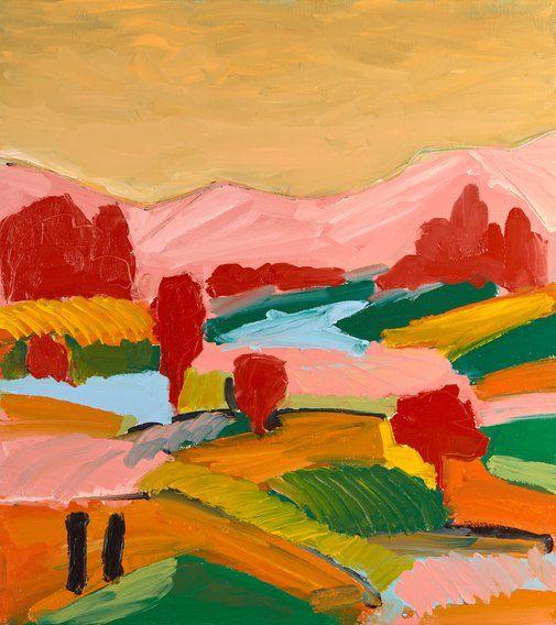 Rowan Robertson: Sun shines in the rusty morning :: Wynne Prize 2017 :: Art Gallery NSW