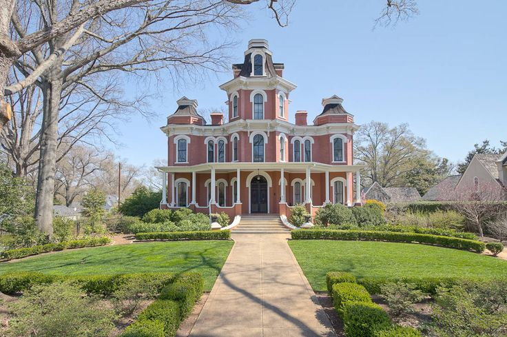 1875 Second Empire - Greenville, SC... Follow the link and look at the absolute beauty on the inside. You will be in awe!