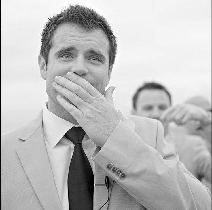 Grooms reacting to seeing their bride