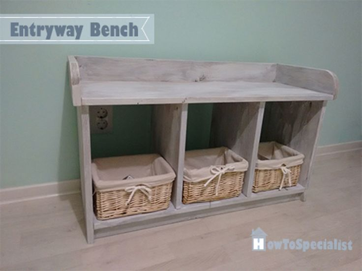 17 Best Ideas About Small Entryway Bench On Pinterest