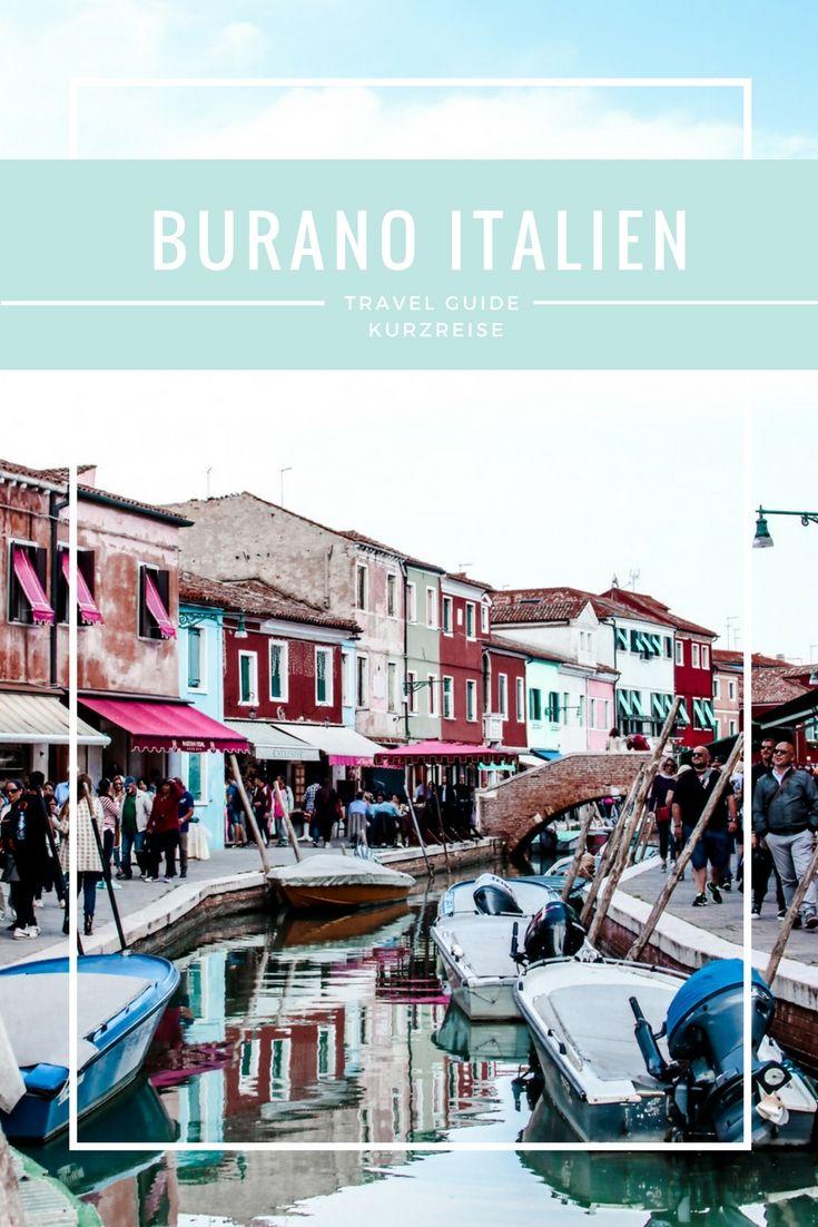Reisebericht & Reisetipps für eine Kurzreise in 24 Stunden nach Burano: von Hotels bis zu den schönsten Sehenswürdigkeiten und Tipps zur Anreise nach Burano in Italien! www.twentythreetimezones.com